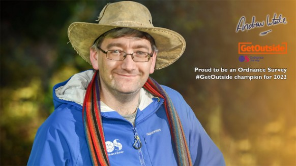 Andrew White - Proud to be an Ordnance Survey #GetOutside Champion